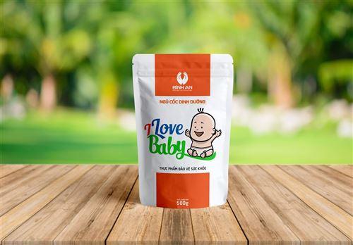 Ngũ cốc dinh dưỡng I LOVE BABY